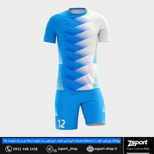 لباس ورزشی فوتبال پیراهن شورت ورزشی فوتبال و والیبال و هندبال و پوشاک ورزشی زد اسپرت لباس فوتبال
