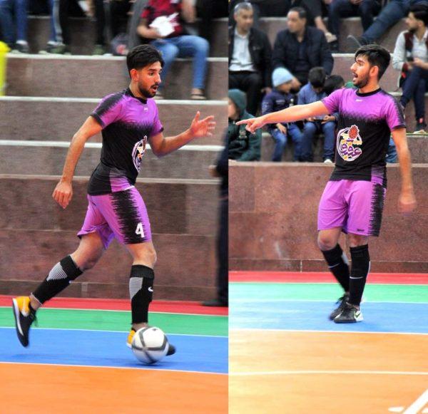 پیراهن و شورت ورزشی فوتبال والیبال هندبال
