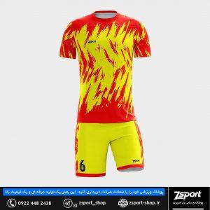 لباس ورزشی فوتبال تولیدی